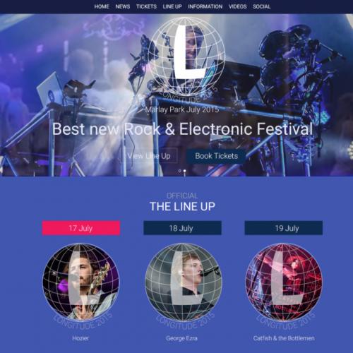 Festival Redesign.